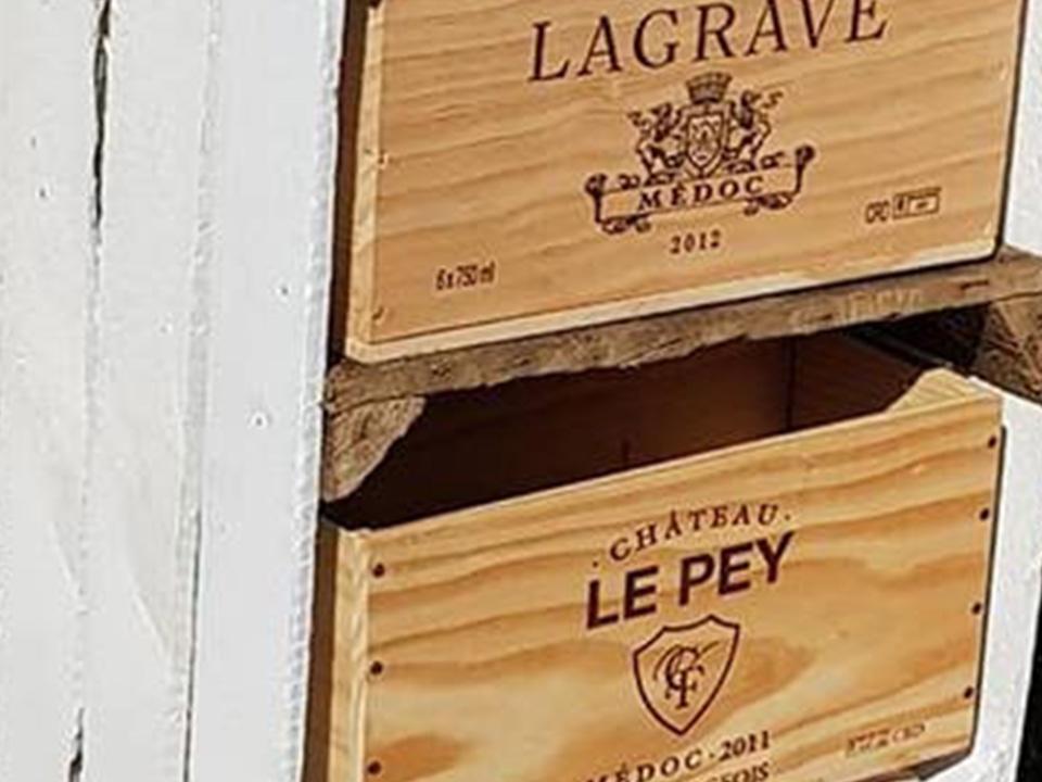 Vintage Le Crate Storage Unit With