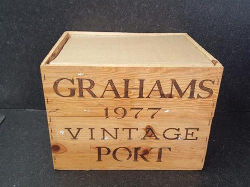 1977 Grahams Vintage Port